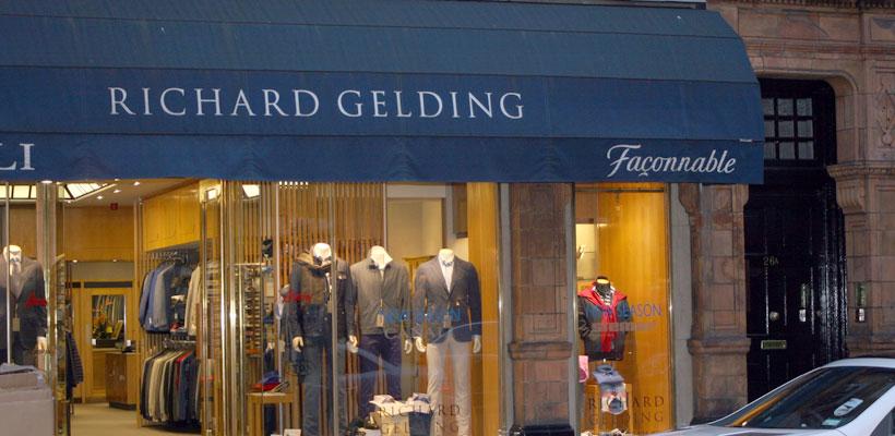 Richard Gelding Suits London