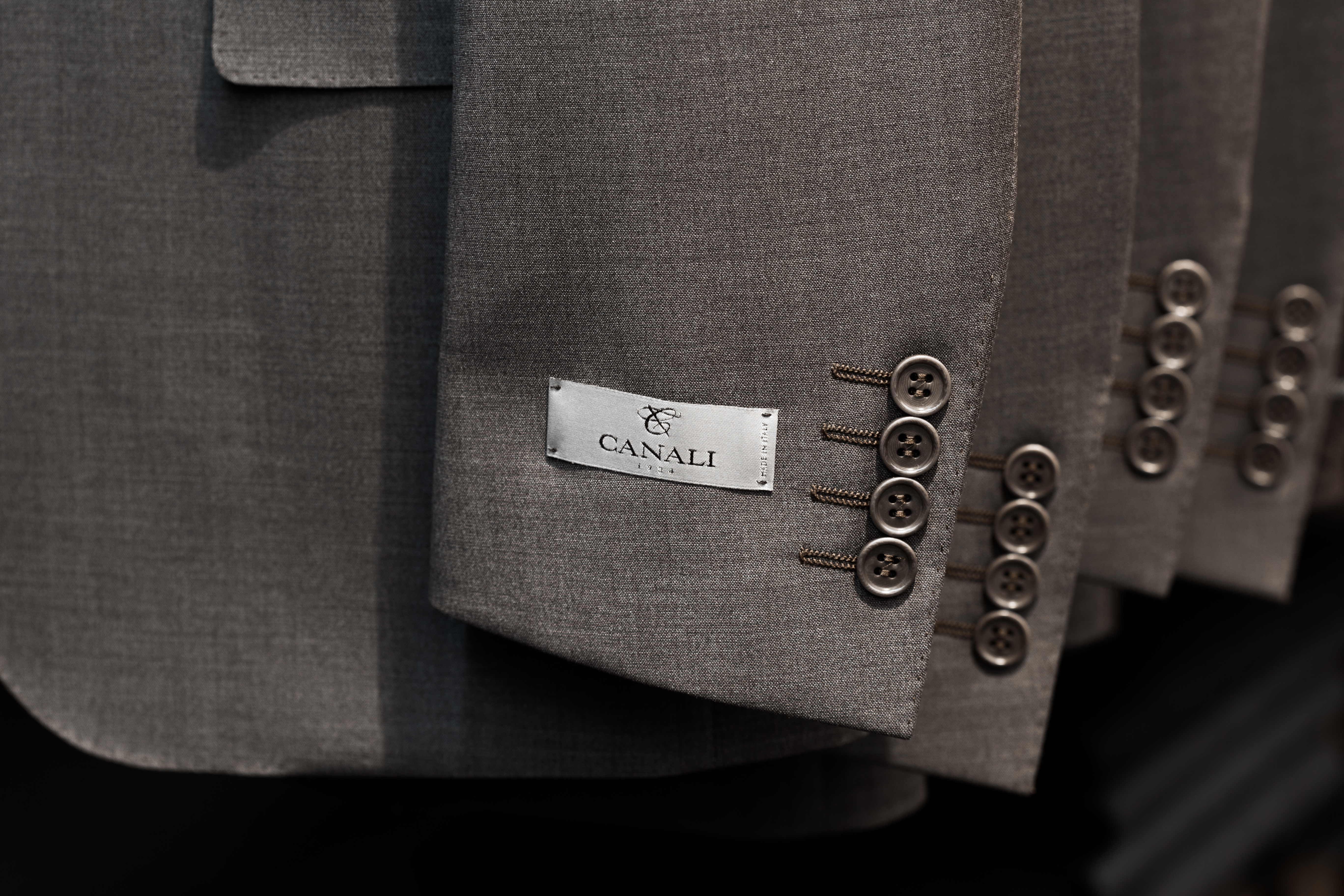 Canali | Made in Italy and stocked by Richard Gelding London