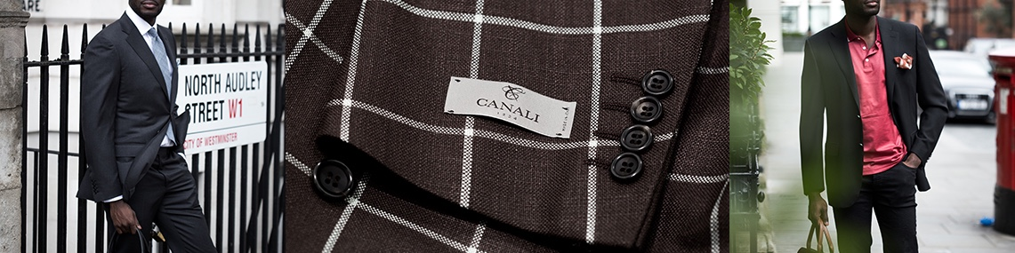 Canali suits London - Richard Gelding, Canali suit retailer